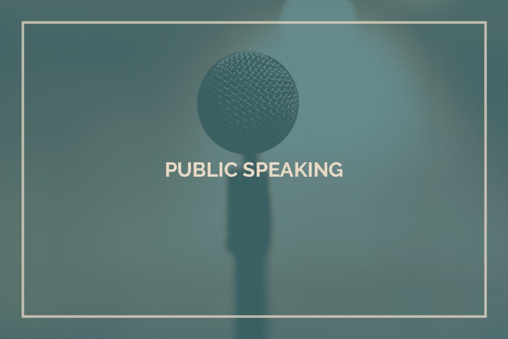 Public Speaking Training and Coaching